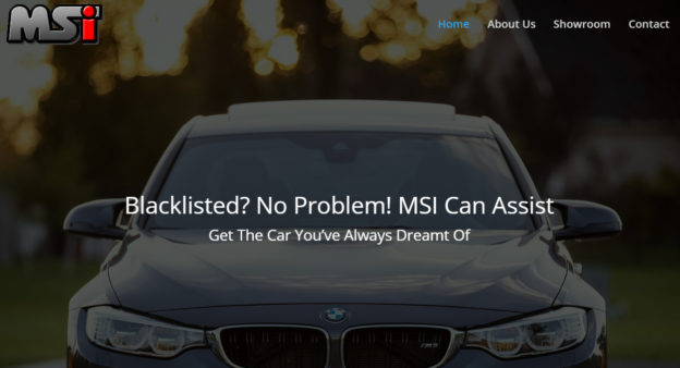 msi car finance